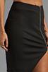 Image 5 of NICHOLAS Ponti Zip Wrap Skirt in Black