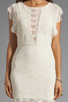 Image 5 of Nightcap Caletto Victorian Lace Mini Dress in Ivory
