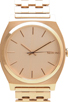 Image 2 of Nixon The Time Teller in All Rose Gold