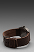 Image 3 of Nixon Gunsmith Collection The Time Teller in Gunmetal/Brown