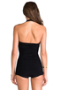 Image 3 of Norma Kamali Bill Mio One-piece in Black