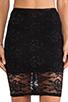 Image 4 of Nookie Teen Spirit Pencil Skirt in Black