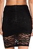 Image 6 of Nookie Teen Spirit Pencil Skirt in Black