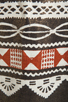 Image 6 of Nanette Lepore Aztec Linen Dress in Black Multi