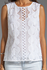 Image 3 of Nanette Lepore Tranquil Top in White