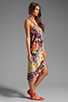Image 3 of Nanette Lepore Tatsuyama Cover Dress in Multi