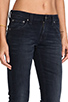 Image 5 of Nudie Jeans Tight Long John in Organic Black and Grey