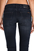 Image 6 of Nudie Jeans Tight Long John in Organic Black and Grey