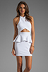 Image 1 of Naven Bardot Dress in White