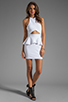 Image 2 of Naven Bardot Dress in White