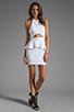 Image 2 of Naven Bardot Dress in White
