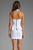 Image 4 of Naven Bardot Dress in White