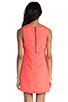 Image 4 of Naven Sporty Twiggy Dress in Neon Salmon/Pop Pink