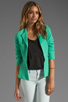 Image 1 of Naven Bardot Blazer in Spearmint