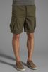 Image 2 of Obey Recon Cargo Short in Army
