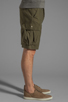 Image 3 of Obey Recon Cargo Short in Army