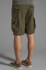 Image 4 of Obey Recon Cargo Short in Army