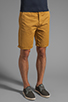 Image 2 of Obey Classique Short in Inca Gold