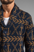 Image 6 of Obey Anchors Heavyweight Cardigan in Dark Navy
