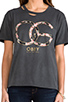 Image 4 of Obey Emporium Tee in Dusty Black