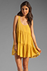 Image 1 of One Teaspoon Two Hearts Tank Dress in Mustard