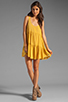 Image 2 of One Teaspoon Two Hearts Tank Dress in Mustard