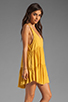 Image 3 of One Teaspoon Two Hearts Tank Dress in Mustard