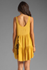 Image 4 of One Teaspoon Two Hearts Tank Dress in Mustard