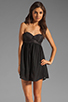 Image 1 of One Teaspoon Nickels and Dimes Sequin Bustier Mini Dress in Black
