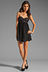 Image 2 of One Teaspoon Nickels and Dimes Sequin Bustier Mini Dress in Black