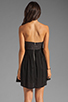 Image 4 of One Teaspoon Nickels and Dimes Sequin Bustier Mini Dress in Black