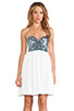 Image 1 of One Teaspoon Bubble Pop Electric Dress in White