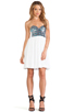 Image 4 of One Teaspoon Bubble Pop Electric Dress in White