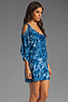 Image 3 of One Teaspoon Magic Dance Tie Dye Dress in Ink