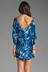 Image 4 of One Teaspoon Magic Dance Tie Dye Dress in Ink