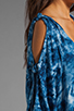 Image 6 of One Teaspoon Magic Dance Tie Dye Dress in Ink