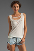 Image 1 of One Teaspoon Deralique Tank in White