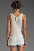 Image 2 of One Teaspoon Deralique Tank in White