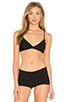 Image 1 of Only Hearts Second Skin Soft Cup Bra in Black
