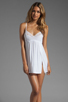 Image 1 of Only Hearts Feather Weight Chemise in White