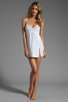 Image 2 of Only Hearts Feather Weight Chemise in White