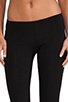 Image 4 of Only Hearts Cropped Legging in Black