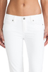 Image 4 of Paige Denim Skyline Skinny in Optic White