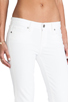 Image 5 of Paige Denim Skyline Skinny in Optic White