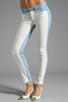 Image 1 of Paige Denim Emily Ultra Skinny in Cloud/White