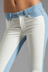 Image 4 of Paige Denim Emily Ultra Skinny in Cloud/White