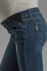 Image 5 of Paige Denim Jimmy Jimmy Skinny Maternity in Tawni Destruction
