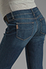 Image 6 of Paige Denim Jimmy Jimmy Skinny Maternity in Tawni Destruction