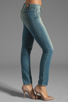 Image 2 of Paige Denim Skyline Ankle Peg in Monet