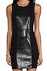 Image 5 of PJK Patterson J. Kincaid Pipper Dress in Metallic Black